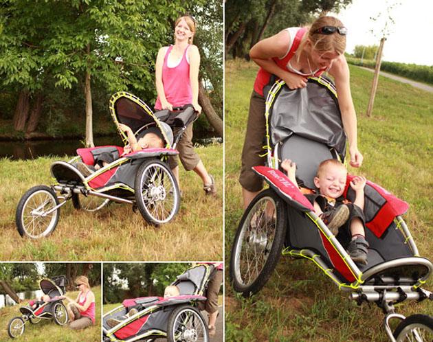 fahrrad anh nger jogging kinderwagen. Black Bedroom Furniture Sets. Home Design Ideas