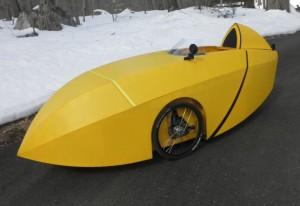 Coroplast Velomobil ICE Sprint